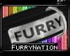 [FN] Furry Collar D.Gray