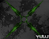 Green Animated Shuriken