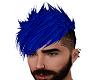 Neon Blue Mohawk