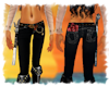 ! Pirate pants black