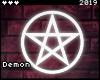◇Pentagram NeonSign WT