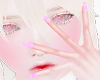 ◉Kawaii Nails. Lilac
