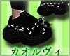 Goth Platforms M- Black