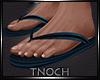 [T] Blue Sandals