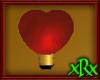 Heart Light Red