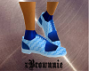 Link-In Blue Shoes