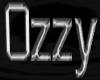 Ozzy Name Silver