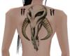 Mythosaur Back Tattoo