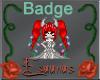 Light Taurus Badge