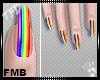[TFD]Pride Nails
