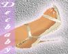 DB Strap Heels~Gold