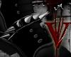 -V- R. Black Spiked Spur