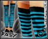 Skinnyboy Socks blk/blue