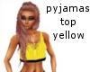 pyjamas top yellow