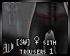 [SW] ♀ Sith Trousers 1