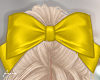 f. yellow cheer bow