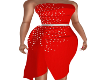 Vanzie Red Dress