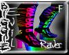 (Rainbow Evil R Boots)