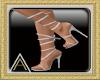 (AL)Strappy Heels White