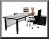 Black & Glass Desk