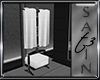 T3 SatinBnd Towel Stand