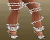 Silver Leg Chains
