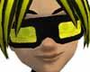Black Yellow Goggles