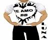 SHIRT TE AMO BB-M