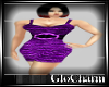 Glo* Charlie Dress~Purpl
