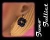 Bronze Rose Earrings