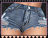 Jean Shorts Large