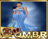 QMBR Gown Shimmer Blue
