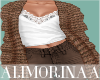 *A*Fall Brown Jacket+Top