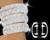 .D. Diamond Anklet-Left