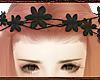 Black Flower Crown