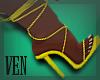 =Ven= Sexy Heels Yellow