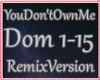 ♥ You Don't Own Me Rmx