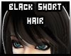 [B] Black Short Hair