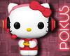 Hello Kitty Gamer Funko