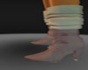 brown boots n socks