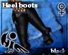 [Hie] Black heel boots