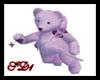 SD Valentine Bear Liliac