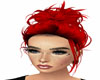 Red Messy Bun