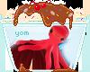 .Y. Red Smiley Octopus