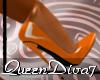 [QD7]7inch Pumps Orange