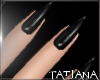 lTl Black Nails