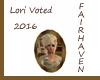 LF Lori Voted 2016