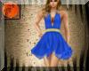 Salsa royal blue dress 2