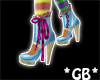 Mad Hatter Boots