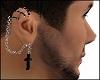 Chain Cross Earrings